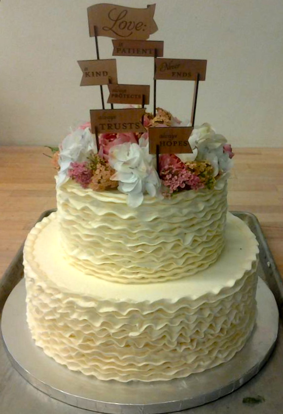 Ithaca Bakery Wedding Cakes